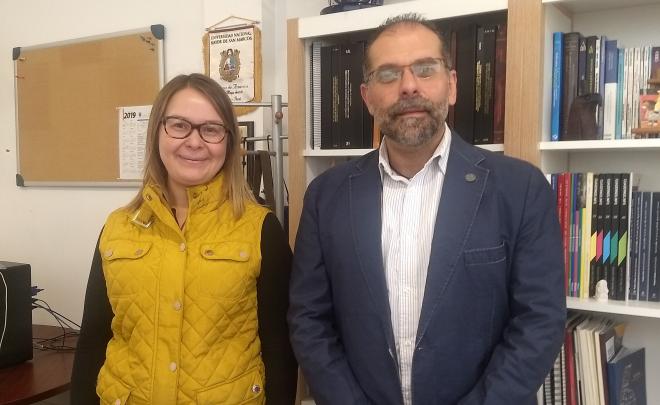 Recibe LACOP visita de profesora chilena